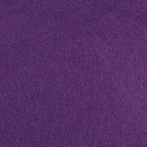 handicraft purple felt