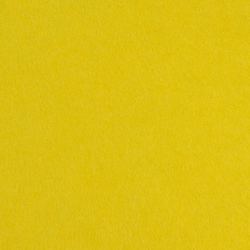 handicraft yellow felt